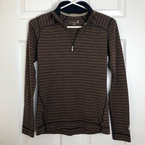 Smartwool Sunglow Heather Wool Pullover Size Small